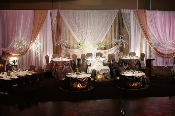 Wedding backdrop decoration and ideas gallery for Backdrop decoration for wedding